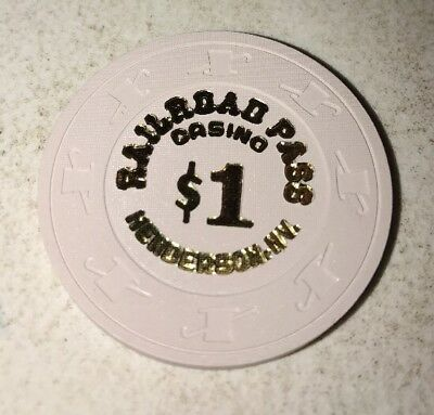 Railroad Pass $1 Casino Chip Henderson Nevada 2.99 Shipping
