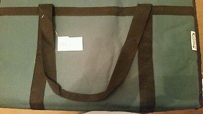 CATERING Insulated Nylon Food Delivery Bag ~ Hot/ Cold Carrier ~ Green