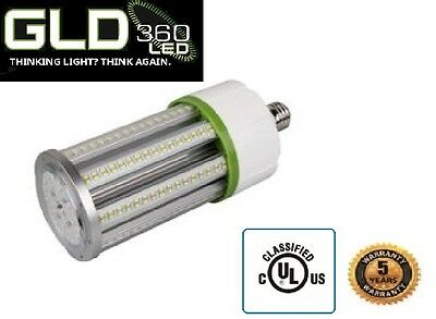 LED 30 Watt IP64 Outdoor Indoor Garage Corn Light Bulb 100-277v UL Mogul,Wet