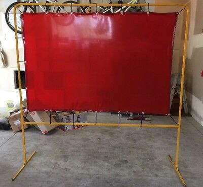 Welding Curtain/Screen with Frame 1950 x 1950