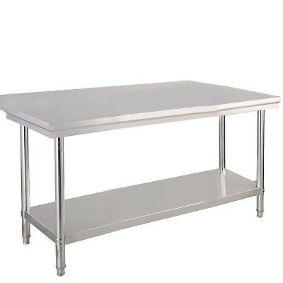 """Nice Qualited 30""""x 48"""" Stainless Steel Commercial Kitchen Work Food Prep Table"""