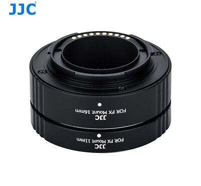 JJC AET-FXS Auto Focus Automatic Extension Tubes for Fujfifilm X Mount Cameras