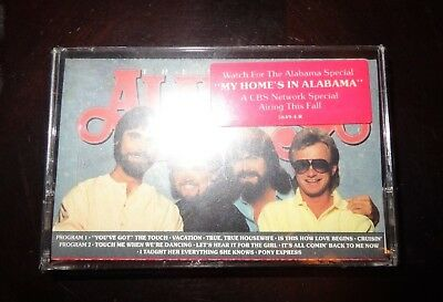 New Vintage New Alabama The Touch Cassette Tape -Country Music - Sealed NIP
