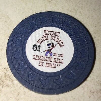 Hotel Nevada $1 Casino Chip Ely Nevada 2.99 Shipping