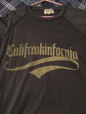 MENS UNISEX JUICY COUTURE  CALIFREAKINFORNIA T SHIRT  IN USA XL Long Sleeved L/S