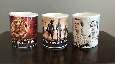 Hunger Games: Catching Fire collectors coffee mugs