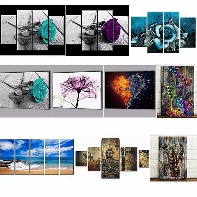 Modern Abstract Art Canvas Oil Painting Picture Print Home Wall Decor Unframed