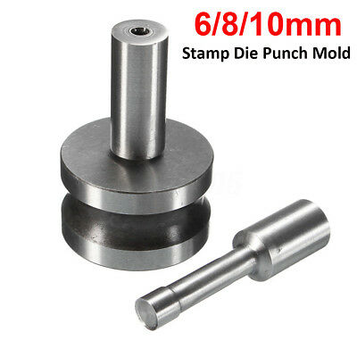 6/8/10mm Round Arc Stamp Die Punch Mold For Tablet Press Pill Making TDP0/1.5