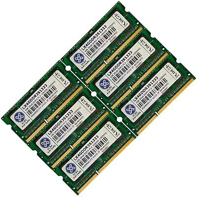 Memory RAM 4 Laptop Notebook DDR3 1333 MHZ PC3 10600 204 PIN CL9 SoDIMM LOT GB