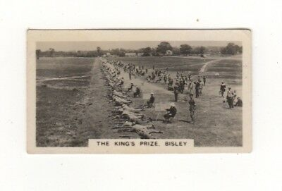 Cigarette card - The King's Shooting Prize, Bisley