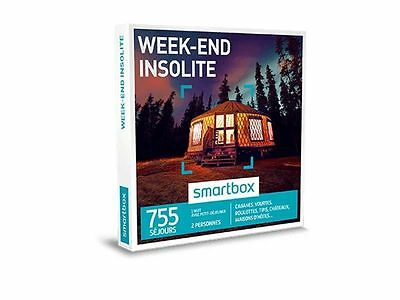 Coffret Smartbox Week End Insolite Neuf Emballe