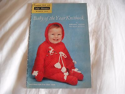 Baby Of The Year Knitbook By Margaret Youings Knitting Patterns