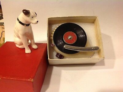 Vintage And Rare Occupied Japan Record Player By Prince-Near Mint In Box-Rca Too