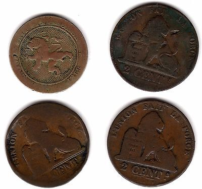 Old Belgium Coins***Collectors***(B4)