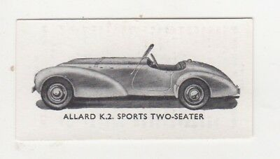 Car Card: Allard K.2. Sports Two-seater