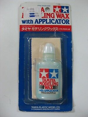 Vintage Tamiya Modeling Wax With Applicator Ref:87036-800