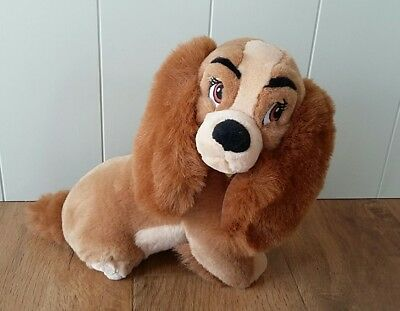 Disney Official Lady And The Tramp Soft Plush Toy