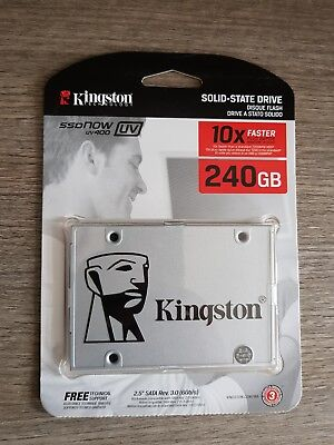 "SSDNow KINGSTON UV400 SERIES SSD 240GB SOLID STATE DRIVE 2,5"" SATA3 6GB/S 240 GB"