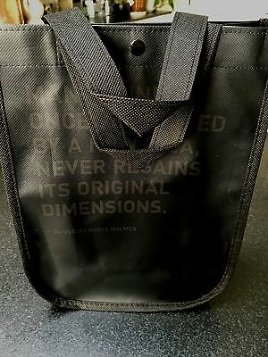 Brand New LULULEMON Black Reusable Tote Shopping Everyday Bag Limited Edition-S