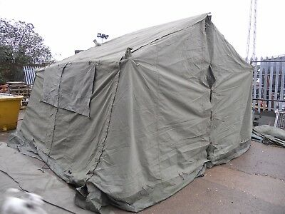 Military 12x12 Mess Tent Mk1 Ali Frame Large Marquee Bushcraft Airsoft Base Camp