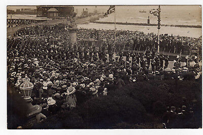 Suffolk, Lowestoft, War Memorial Ceremony, Rp