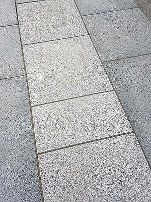Silver Grey Granite Patio Slabs | Mix Size Garden Paving Slabs | 18m2 Per Pack