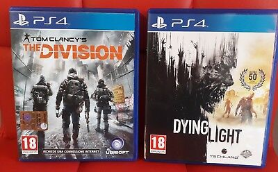 Dying Light + The Division per PS4 - usati