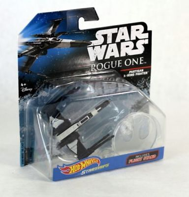 Star Wars Rouge One Hot Wheels Die- Cast Starships Rebel Partisan X-Wing Fighter