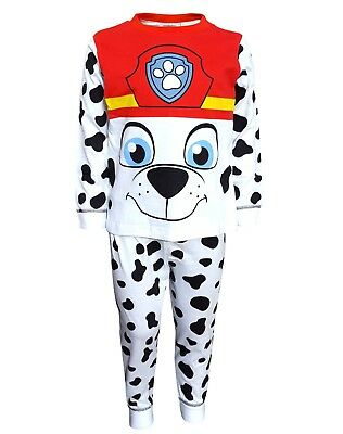 Boys Official Genuine Paw Patrol Marshall Chase Pyjamas Outfit Age 2 3 4 5 6 YRS