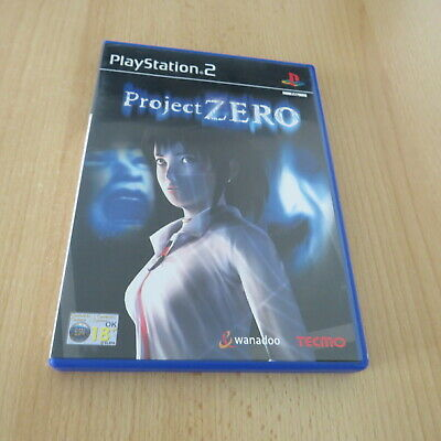 Project Zero PS2 PlayStation 2 pal version