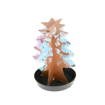 Kids Magic Growing Crystal Tree Kit Christmas Paper Decoration Science Toy ^