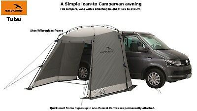EasycampTulsa Campervan Awning - NEW for 2017