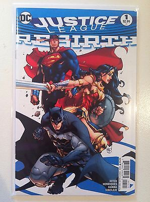 Justice League Rebirth #1 Joe Madureira Variant Cover Hitch Nm 1St Printing 2016