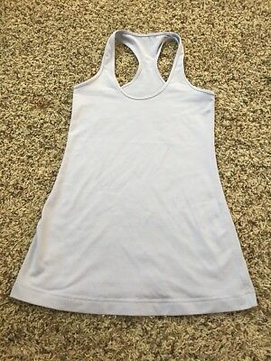 Lululemon Yoga Running Fitness Light Purple Tank Cami Top Size 6