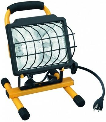 Portable Work Light Utilitech 500-Watt Halogen Indoor Outdoor Wet