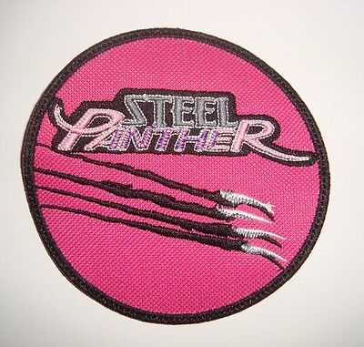 STEEL PANTHER - LOGO Embroidered PATCH Motley Crue Reckless Love Crashdiet