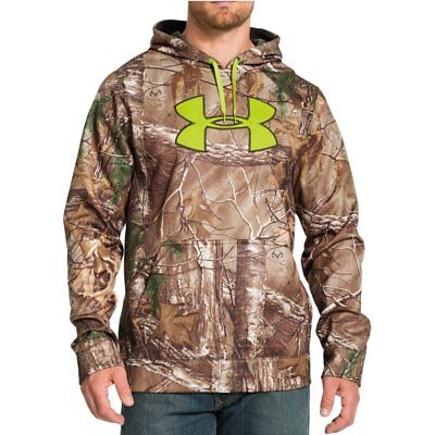 New Under Armour Infrared Scent Control Camo Hoodie 1248010 Men's XL 2XL 3XL $90