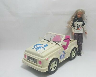Steffi Love Doll and Jeep car