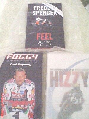 Foggy-Hizzy-Spencer Signed Autobiogaphies Mint