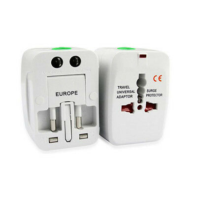 Universal All in One Travel Plug Adapter AC Power for US EU UK AU Copper Slice