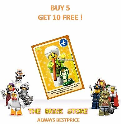 LEGO #002 BESTPRICE SAM WITH BOOK CREATE THE WORLD TRADING CARD GIFT NEW