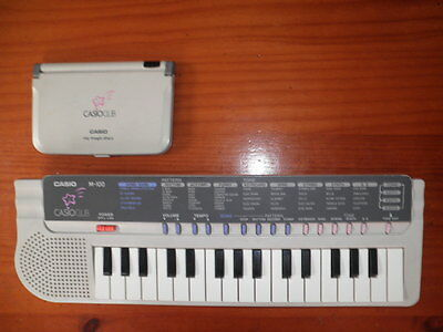 Organo Vintage Casio Club M-100 + My Magic Diary Casio Digital Keyboard + Data B