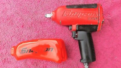 """Snap-On *very Nice!* 1/2"""" Drive Mg725 """"red"""" Super Duty Impact Wrench!"""