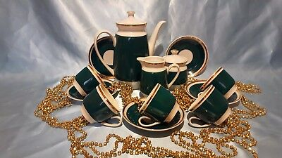 Gorgeous Vintage porcelain coffee set, made in Bulgaria 13/5 very beautiful!