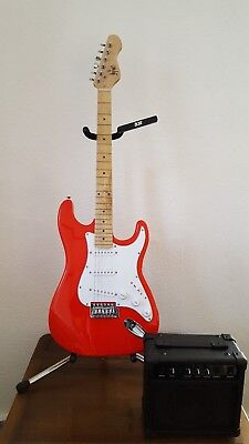 Herald HLD012 Electric Guitar 'Red' PACKAGE DEAL HL D0 12 15