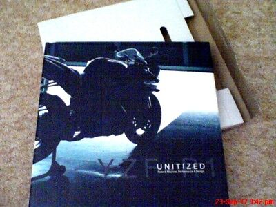 Yamaha  YZF-R1 98'-06'  'Unitised' BOXED special factory booklet  excl cond.
