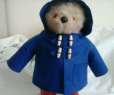 NEW ROYAL BLUE COAT for YOUR Gabrielle Paddington Bear  (see other listings )