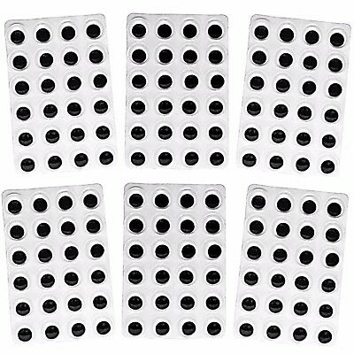 Wiggle Wiggly Googly Eyes Self Adhesive 15mm Pack Size 144 Sticky Craft Crafts