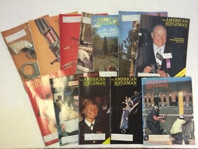 American Rifleman Magazines 1977 (Lot Of 12 Complete Year)