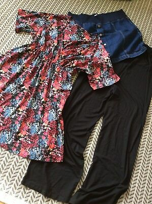 Size 18 Maternity Bundle Dress / Skirt / Trousers New look & ASOS